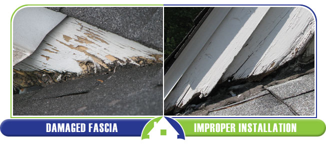 Damaged Fascia and Improper Installation